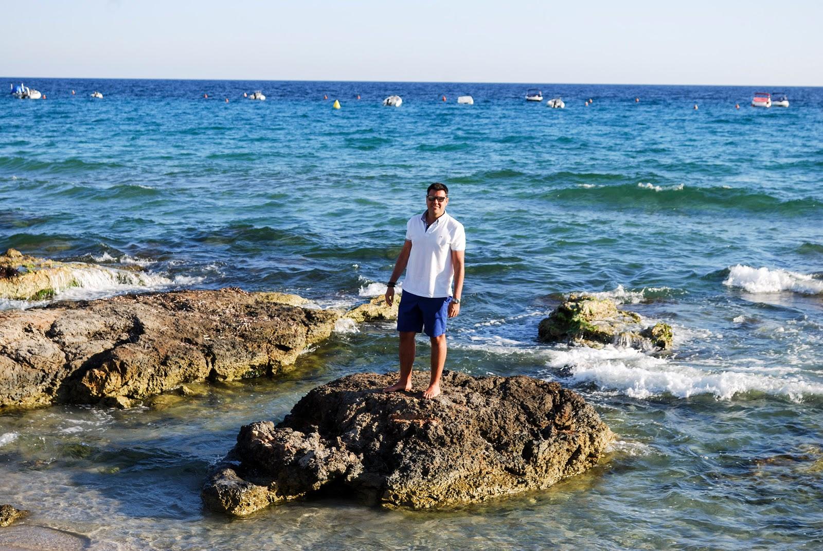 Santo Tomas beach Menorca Spain