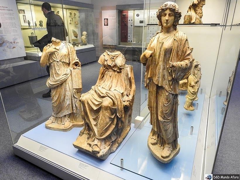 Seção grega do British Museum