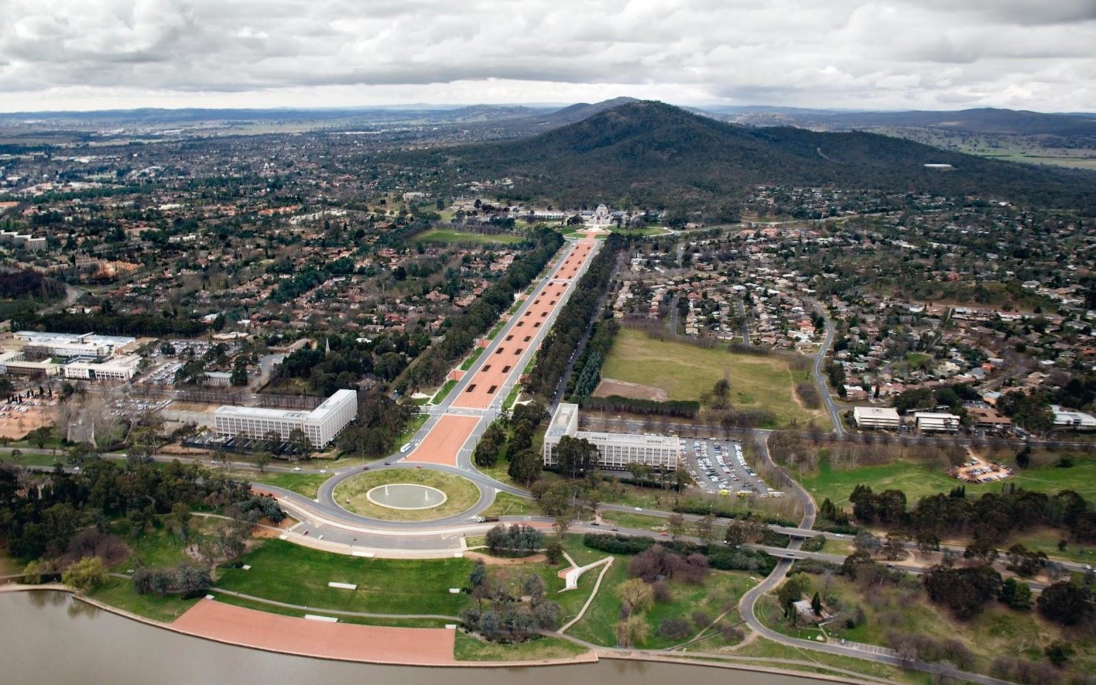 Canberra, Capital da Austrália