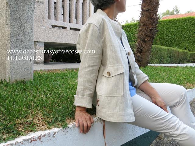 tutorial para hacer una chaqueta urbana
