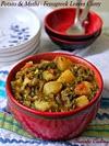 Potato And Methi (Fenugreek Leaves) Curry