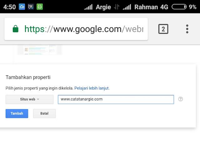 Cara artikel cepat terindex google.