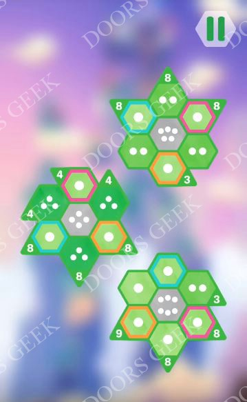 Hexologic Level 53 Solution, Cheats, Walkthrough for android, iphone and PC Steam