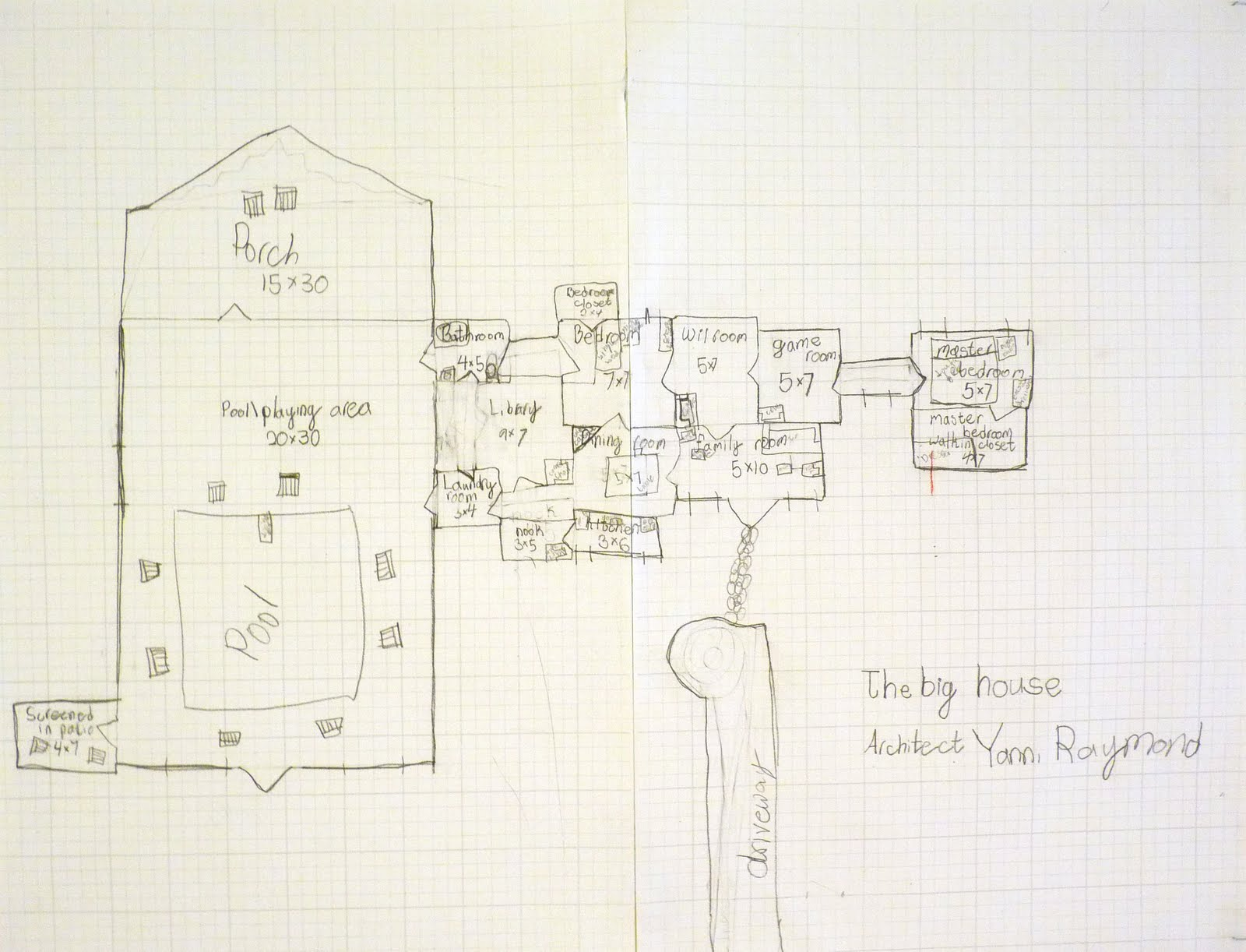 Laser Tag Floor Plan: Architecture: Dream Houses Complete