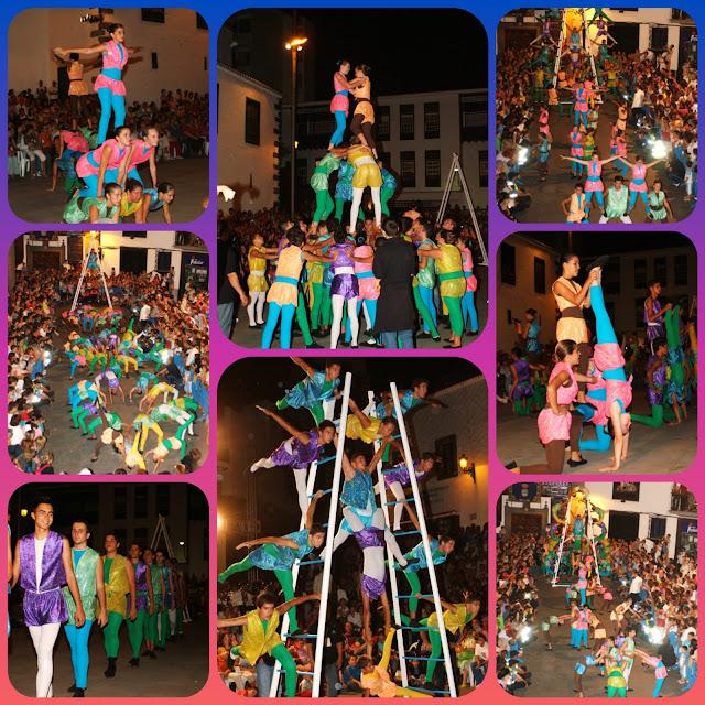 El 4 de noviembre finaliza el plazo para inscribirse en la Danza de Acróbatas