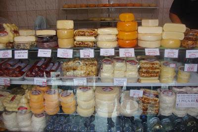 Loja de queijos em Poços de Caldas