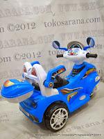 Motor Mainan Aki Pliko PK6100RC Thor in Blue