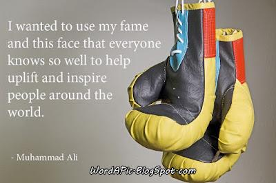 Muhammad Ali photo quote