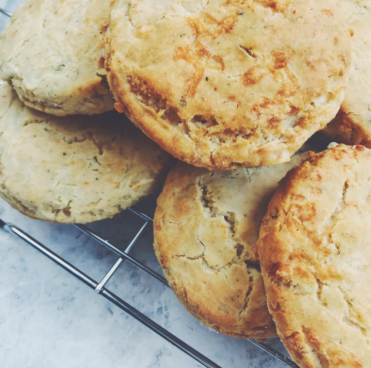 gluten-free cheese scones