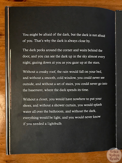 The Dark by Lemony Snicket page