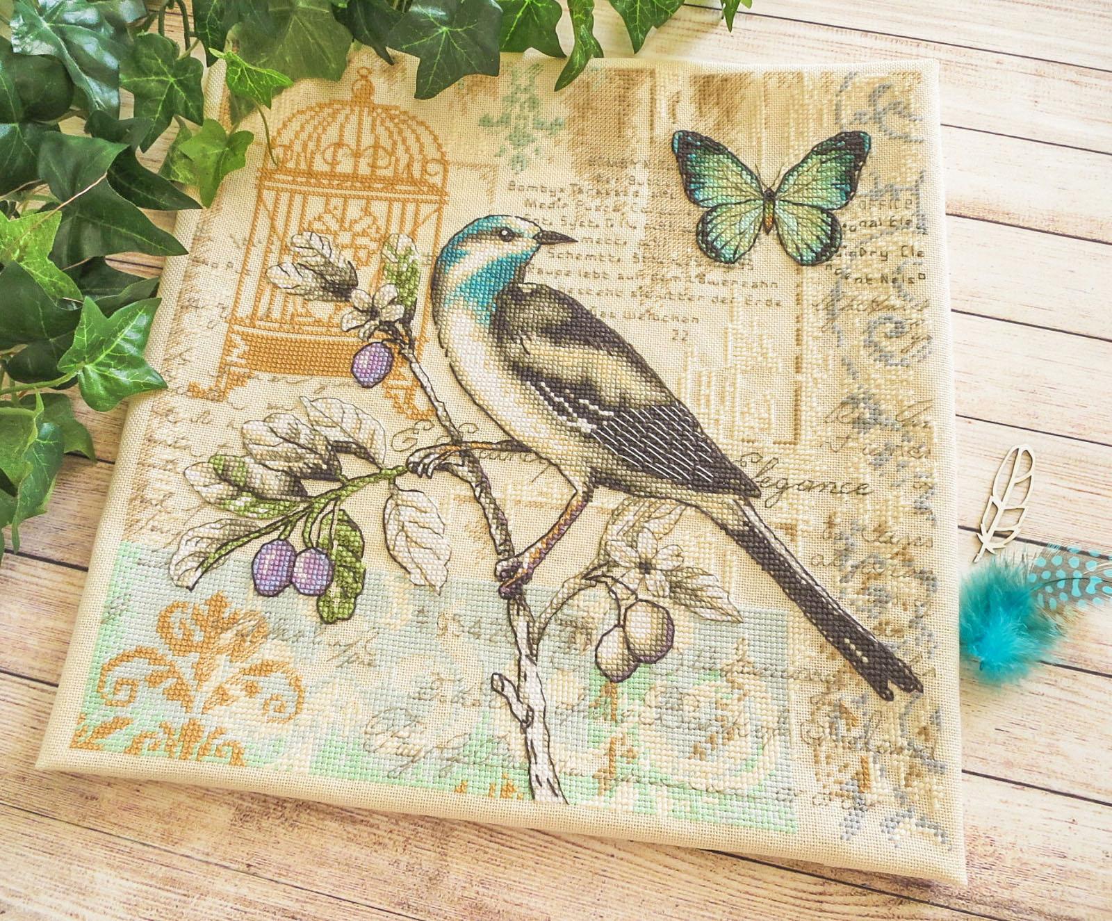 nature study dimensions, embroidery, вышитая картина, дименшинс, Dimensions 35290, вишита хрестиком картина, вышивка крестиком, вышитая птица