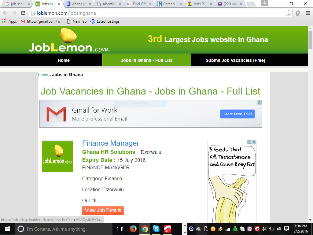 7 job search websites every unemployed graduate in should what many users and non users of this site not know however is that web com also features job vacancies every now and then