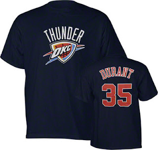 Kevin Durant Big and Tall Oklahoma City Tee Shirt