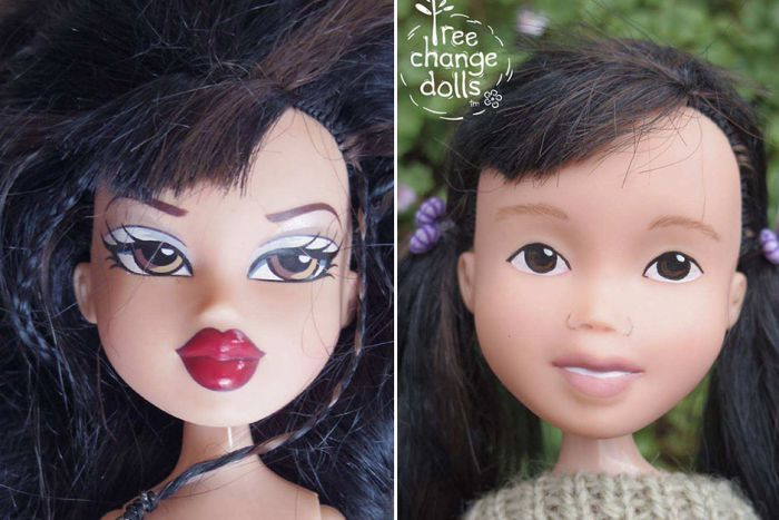 How to Remove Makeup from Dolls and Repaint the Faces