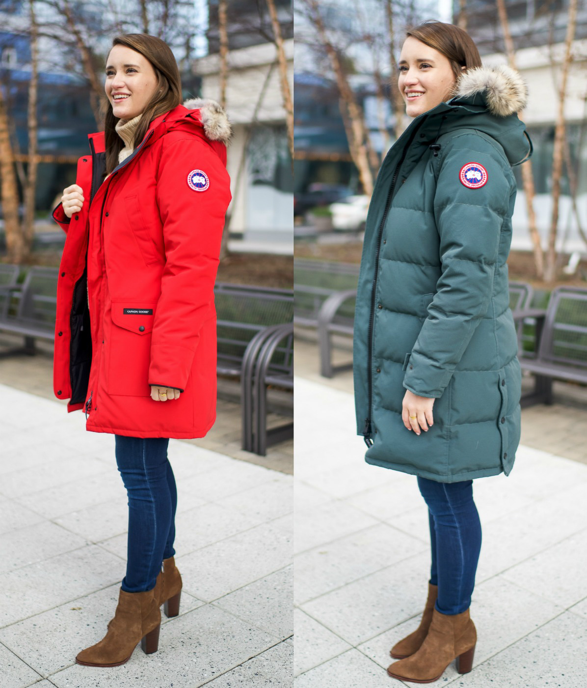 canada goose kensington parka weight
