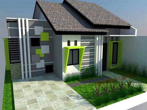 Untuk Warna Cat Rumah Minimalis Ra Saat Ini Memang Lebih Mendominasi Yang Sedikit Kontras Seperti Turquoise Hijau Dan Juga Lainya