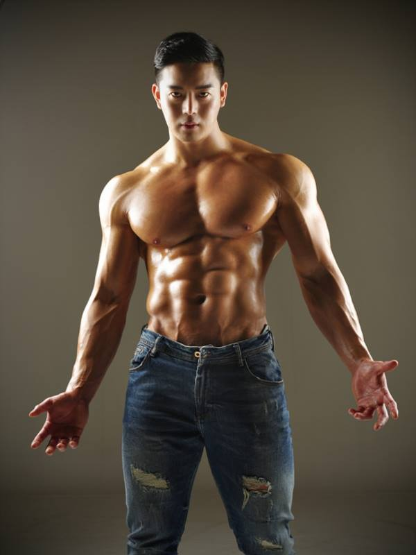 Nude Asian Muscle 74