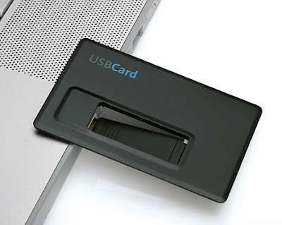 Credit Card Size USB Card