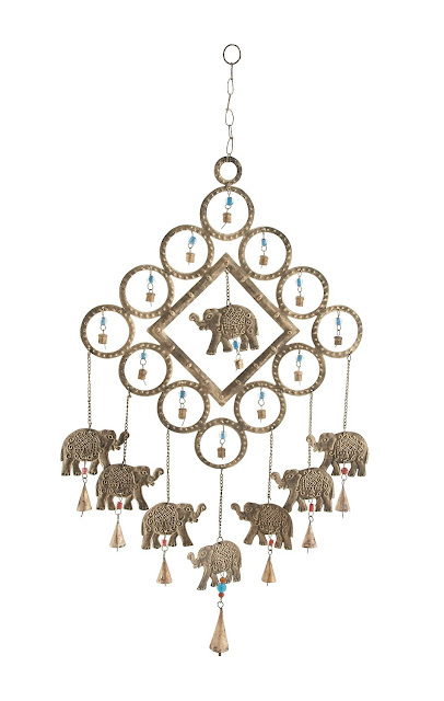 Affordable Bohemian Elephant Home Decor {Boho bohemian hippie home decor under$20} Bohemian home decor. Boho chic decor. Bohemian Interior Design. Indian Elephant home decor. Gifts for elephant lovers.