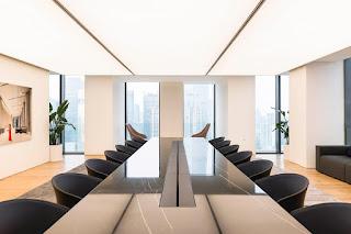 lựa chọn ánh sáng trong thiết kế văn phòng làm việc