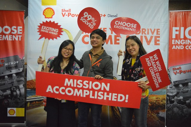 "Shell V-Power Nitro+ ""Choose Excitement Challenge"""