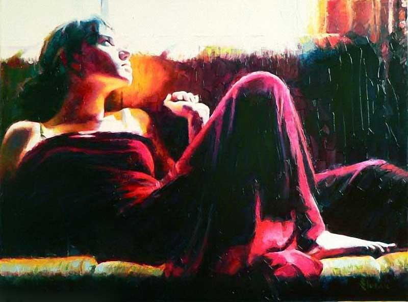 Alexey Slusar   Ukrainian painter   Flamenco dancers   Tutt'Art@ ()