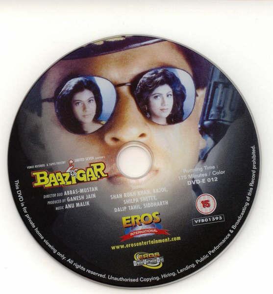 CINE HINDU: Baazigar (1993