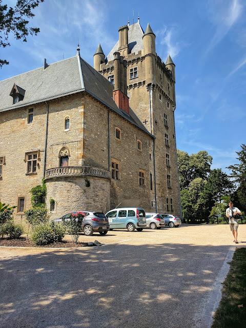 Castle Chanzey-sur-Ain by Perouges France