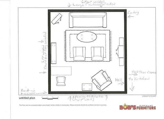 Living Room Floor Plans: Maison Newton: Redoing The Living Room