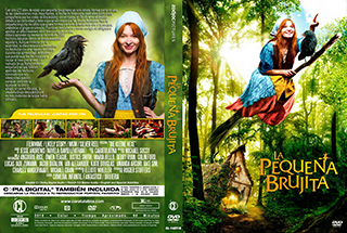 Die kleine Hexe - La Pequeña Brujita - Cover DVD