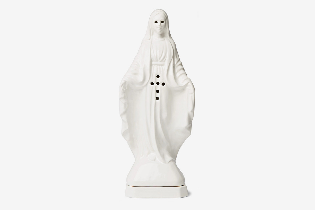 Virgin Mary Shaped Incense Chamber