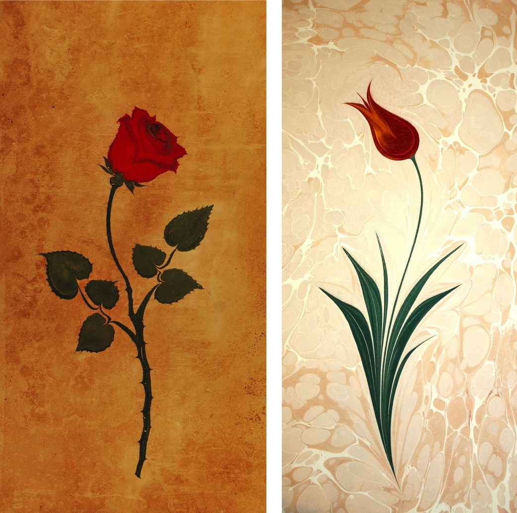 07-Garip-AY-The-Art-of-Ebru-with-Painting-on-Water-www-designstack-co