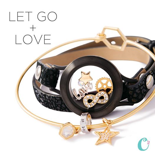 Let Go and Love Origami Owl Bracelets | Create your own today at StoriedCharms.com
