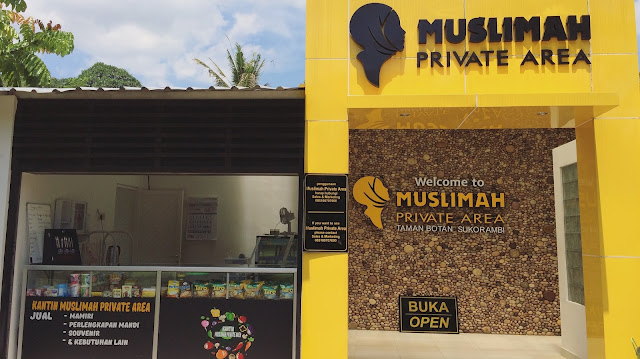 Muslimah Private Area Taman Botani Sukorambi