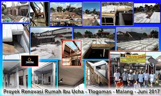 renovasi rumah di Malang