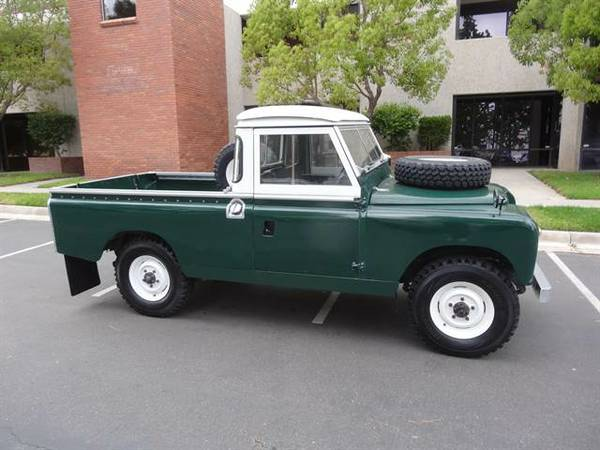 1962 Land Rover Series IIA 109 Pickup | Auto Restorationice