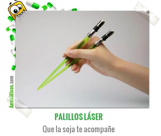 Chiste de Star Wars Palillos Láser