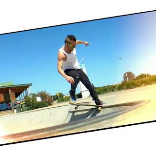 Mark Jansen Skateboarding Adelaide West Beach