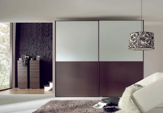 splendid brown sliding door wardrobe mixed with brown floral pendant lamp also brown rug idea