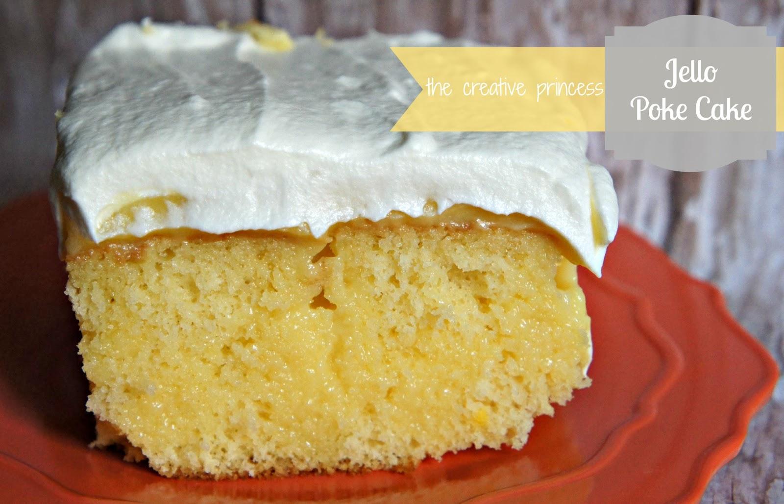 Jello Pudding Poke Cake
