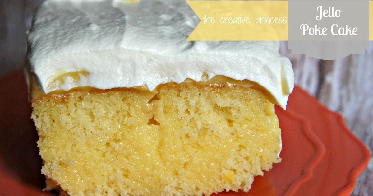 The Creative Princess: Jello Pudding Poke Cake