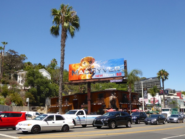 MacGyver special extension billboard