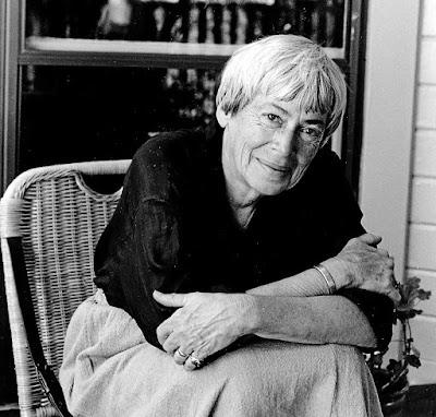 Ursula K. Le Guin en la BUM.