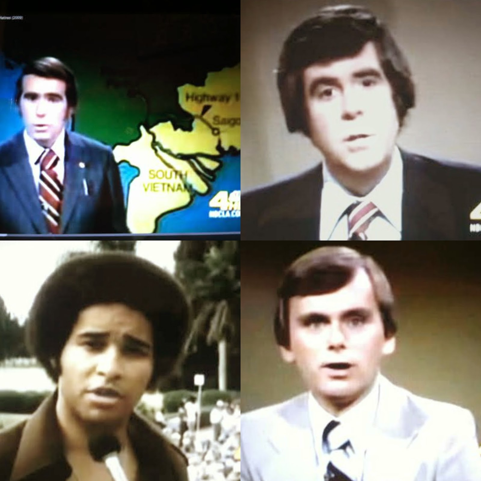 LOS ANGELES TV NEWS ANCHORS & REPORTERS