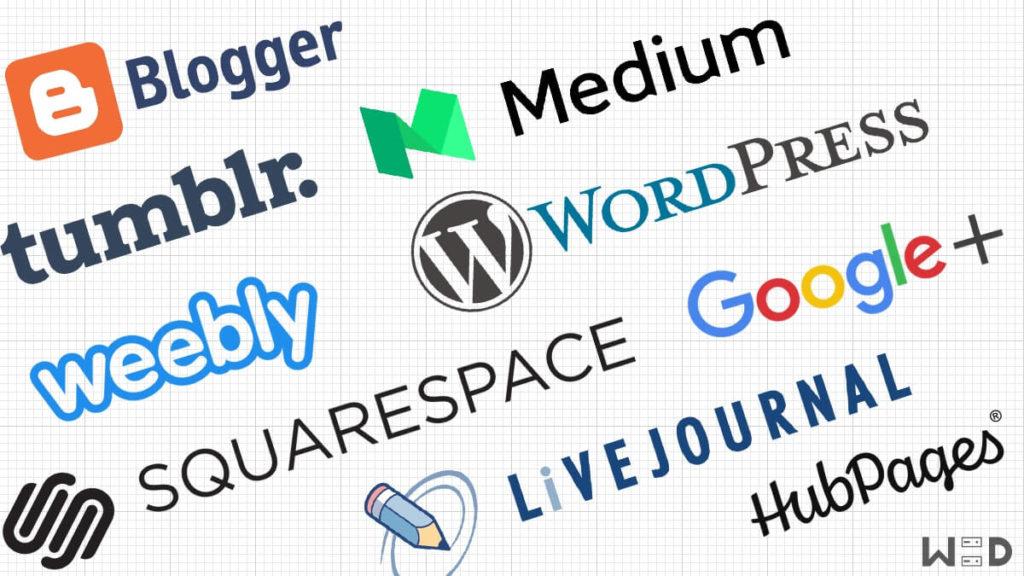 Daftar situ blog terbesar dunia