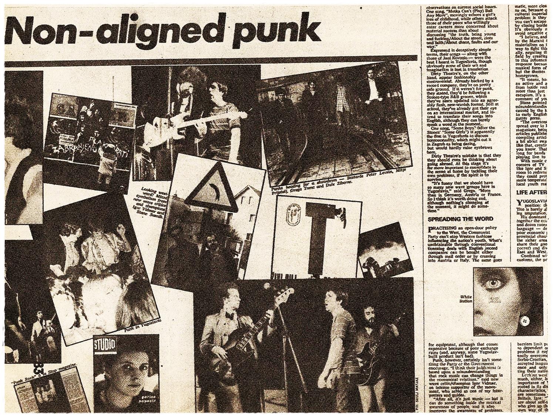 Punk rocker stranica za upoznavanja