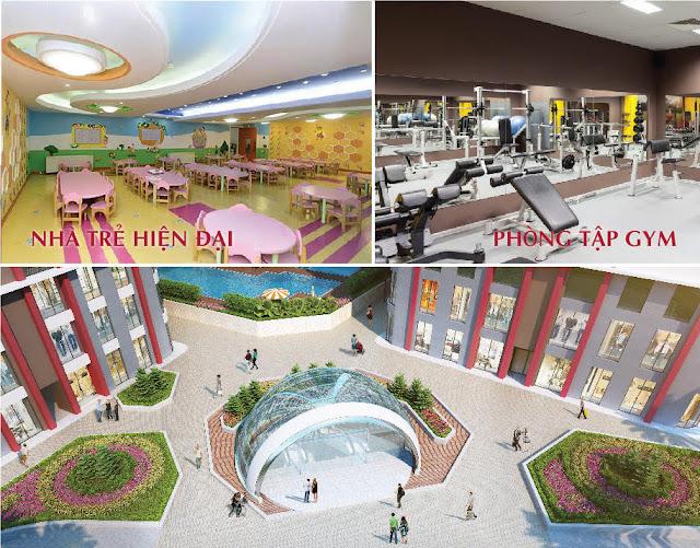 Imperial Plaza sở hữu không gian sống đẹp và tiện ích dịch vụ cao cấp.