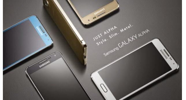 Untuk Menyaingi Iphone 6 Samsung Siakan GALAXY ALPHA