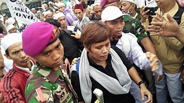 Wartawan Dapat Omelan hingga Kekarasan Massa Aksi 122