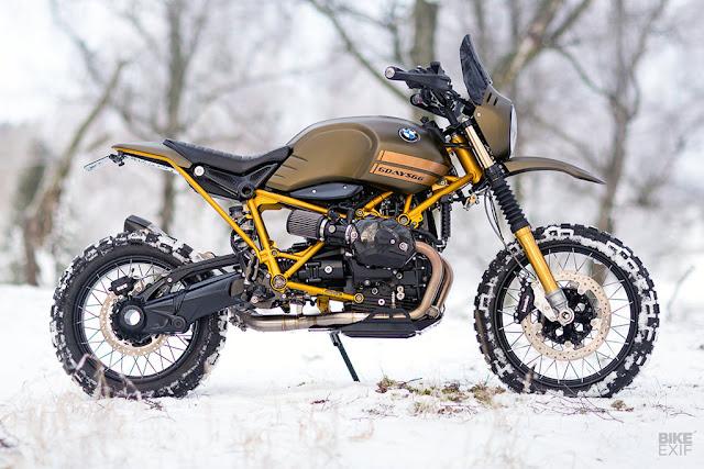 'Gấu tuyết' BMW G/S đến từ Thụy Điển / Motor VN